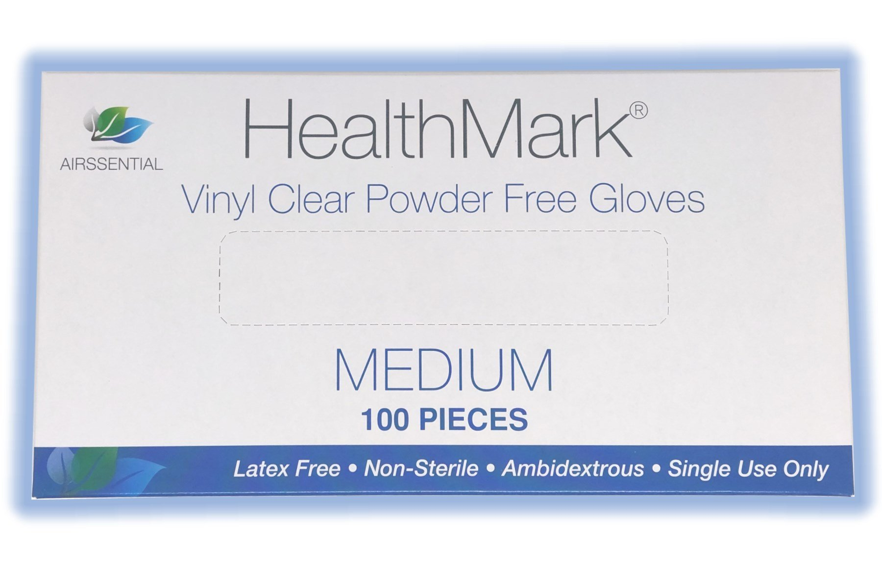 GUARDIAN VINYL POWDER FREE GLOVES MEDIUM, 100