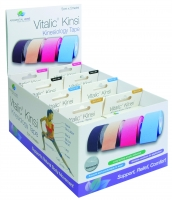 VITALIC KINSI KINESIOLOGY TAPE 5CM X 5M, PREPACK OF 8 - Click for more info