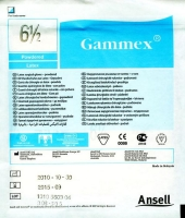 GAMMEX GLOVES POWDERED LATEX SIZE 6.5, 50