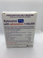 XYLOCAINE 1% & ADRENALINE 1:100,000 10 X 5ML (12017) (S4)