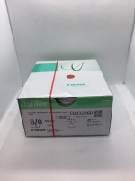 B.BRAUN DAFILON BLUE NYLON SUTURE 6/0 DS12 45CM, 36