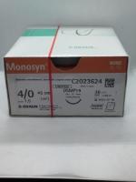 MONOSYN UNDYED SUTURE 4/0 DSMP19 3/8C 45CM, 36
