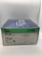 SHARPOINT NYLON SUTURE 5/0 45CM DS18, 36