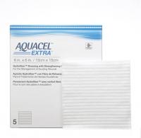 AQUACEL EXTRA DRESSING 15CM X 15CM, 5