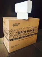 POSSUM MULTIFOLD HAND TOWEL 23CM X 23CM, 4000