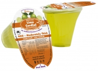 LIME CORDIAL DRINK L3 MODERATELY THICK 400 175ML, 24