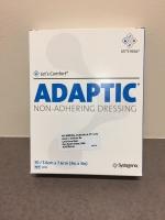 ADAPTIC NON ADHERING DRESSING 7.6CM X 7.6CM, 50