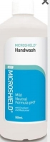 MICROSHIELD HANDWASH MILD 500ML (0373)