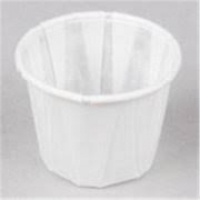 PAPER SOUFFLE CUPS, 250 PER SLEEVE