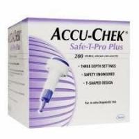 ACCU-CHEK SAFE-T-PRO PLUS LANCETS, 200 - Click for more info
