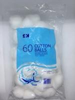 S&M COTTON WOOL BALLS 35G, 60