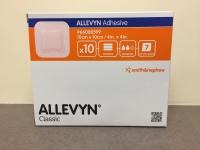 ALLEVYN ADHESIVE DRESSING 10CM X 10CM, 10