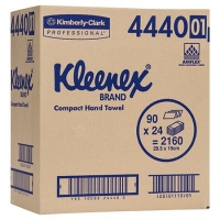 KLEENEX COMPACT HAND TOWEL 29.5CM X 19CM, 90 X 24 - Click for more info